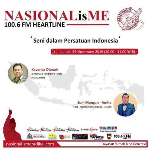 Seni dalam Persatuan Indonesia | NASIONALisME 29 November 2019