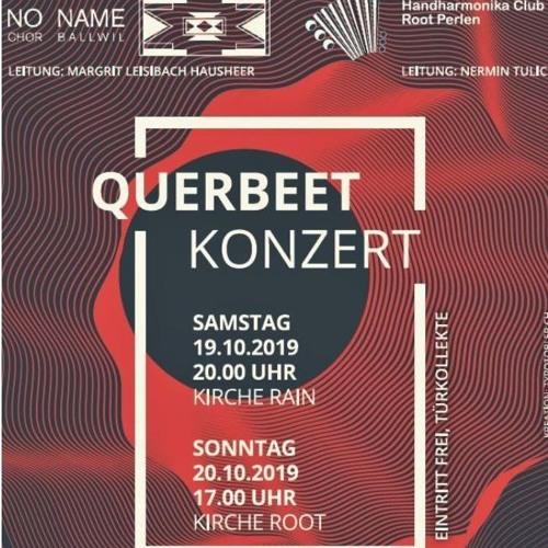 Querbeet Konzert; No Name Chor und HCRP 2019