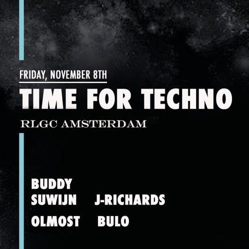 2019 Buddy Suwijn For Time For Techno 8 November @ RLGC Amsterdam