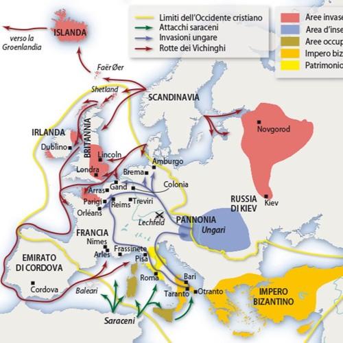 Antonio Grappone Alto medioevo: il IX e il X secolo