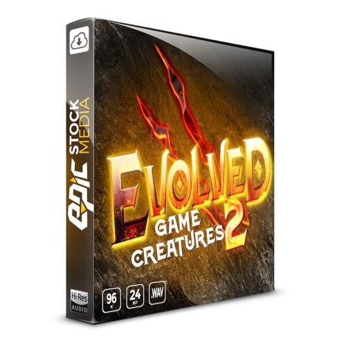 Epic Stock Media Evolved Game Creatures 2 WAV