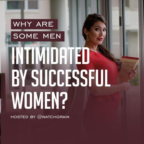 Intimidated men women by Men Share