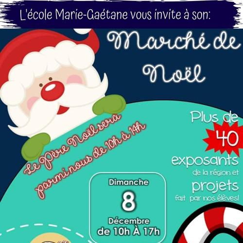 Entrevue Marché de Noël de l'École Marie-Gaétane de Kedgwick