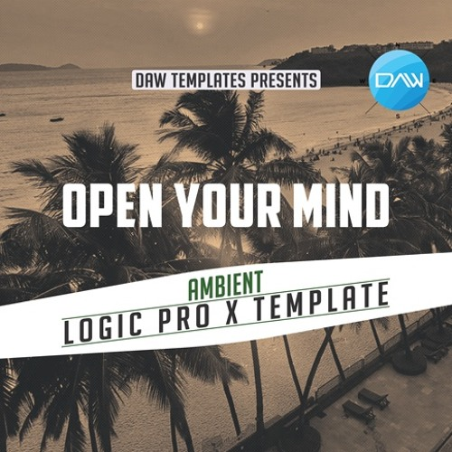 Open your Mind Logic Pro X Template