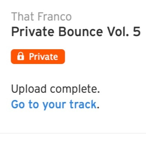 Private Bounce Vol. 5