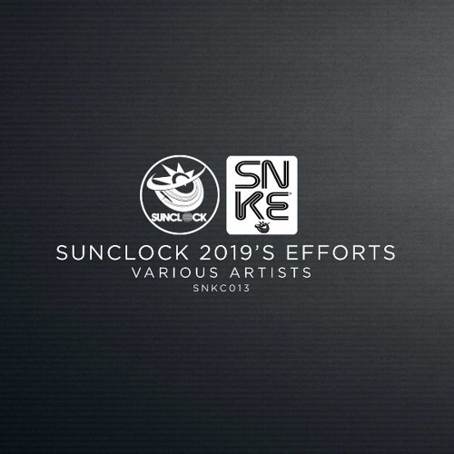 Various Artists - Sunclock 2019's Efforts - SNKC013