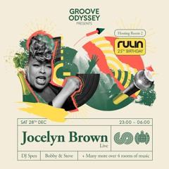 Groove odyssey presents Jocelyn Brown