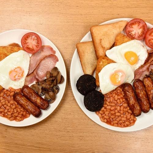 Five & Six of Six - Breakfast means breakfast