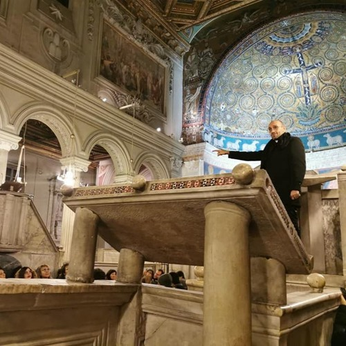 San Clemente basilica superiore Giuseppe Midili Corso Guide Roma Alto Medioevo