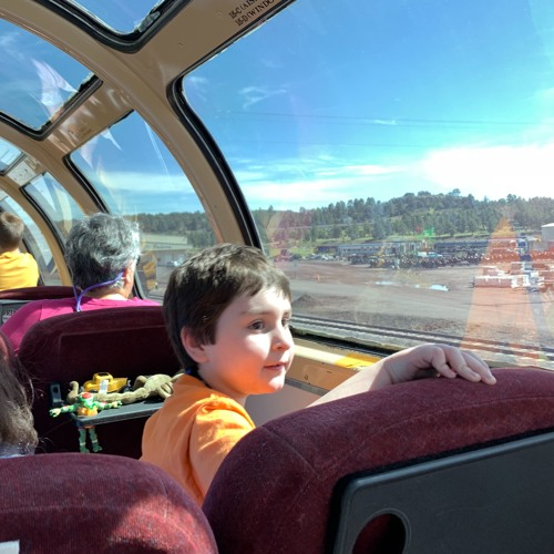 Grand Canyon Railway — JJ — Bathtime with Grandma
