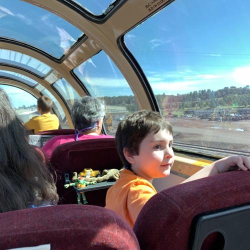 Grand Canyon Railway — JJ — Gab