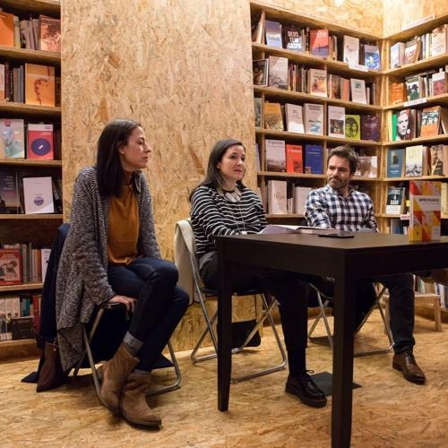 PODCAST: Apresentação do livro Improvisando, com Inês Meneses (11 Dez 2019)