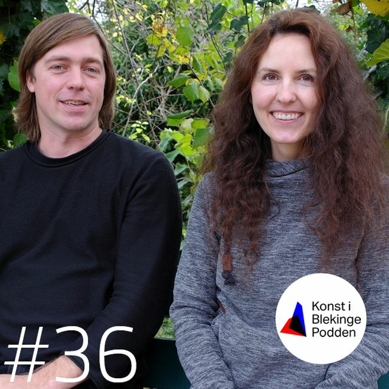 #36 Katarzyna Pagowska och Taavi Suisalu, A.I.R. Blekinge 2019
