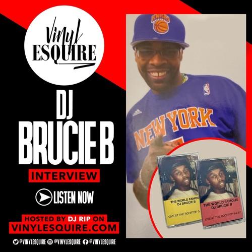VINYL ESQUIRE WITH DJ BRUCIE B