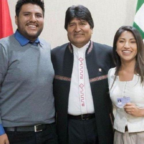 Evo Morales Refugiado en Argentina por juán Manuel KArg