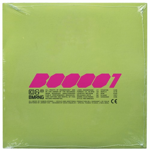 'Stanton' - BOO001 out now on Boomerang ©&®