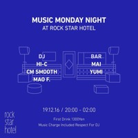 DJ MIX@RockStarHotel_Osaka_Japan_16_Dec_2019 (Tech house set) Artwork