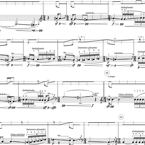 Rattling Darkness (2015/17-18) for solo trombone