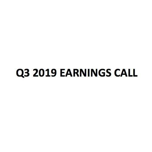 GTY Technology - Q3 2019 - Earnings Call