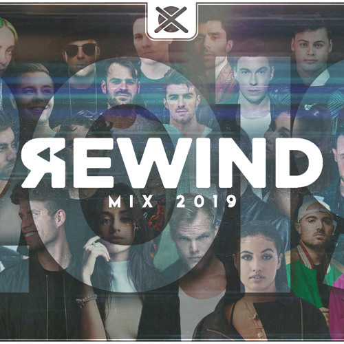 Best Of EDM Rewind Mix 2019 - 50 Tracks in 25 Minutes