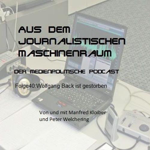 Folge40: Wolfgang Back ist gestorben