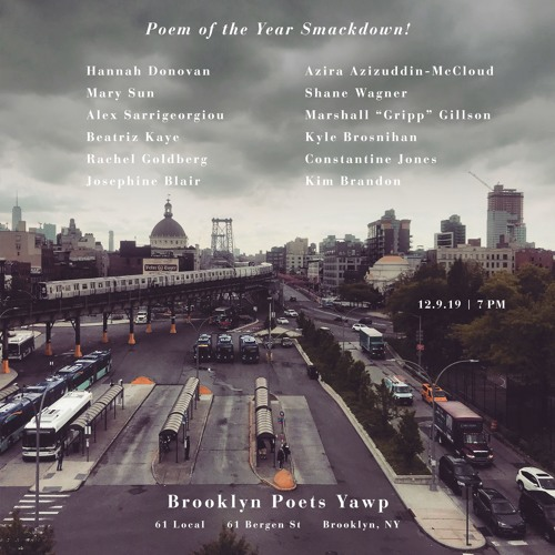 Yawpcast 12.9.19 (Part II: Poem of the Year Smackdown)
