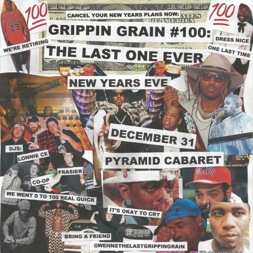 Grippin Grain DJs (Lonnie CE, Co-op and Frasier)