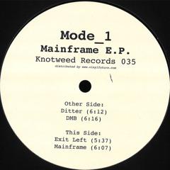 KW035 - Mode_1 - Mainframe E.P.