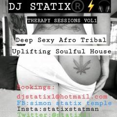 DJ STATIX THERAPY SESSIONS VOL 1