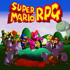 Super Mario RPG - Fight Against a Somewhat Stronger Monster