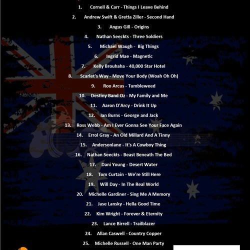 My Country Australia Top 30 for 2019