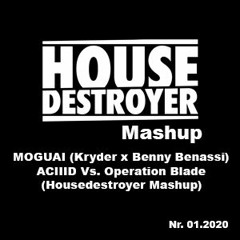 MOGUAI (Kryder X Benny Benassi) - ACIIID Vs. Operation Blade (Housedestroyer Mashup)