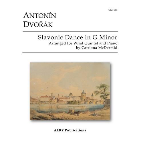 Antonin Dvorak - Slavonic Dance in G Minor for Wind Quintet and Piano (arr. Catriona McDermid)