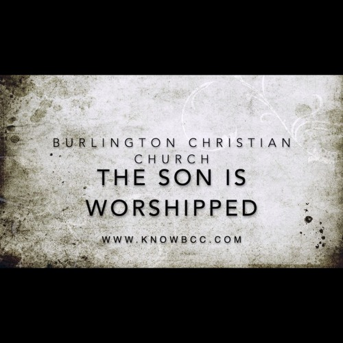 The Son Is Worshipped