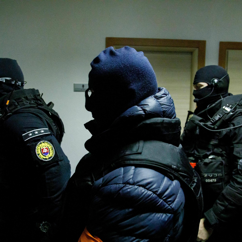 Vyhlásenie rozsudku nad Zoltánom Andruskóom