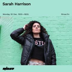 Sarah Harrison - 30 December 2019