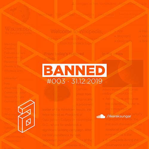 Banned 003 Mixed By Ilker Aksungar