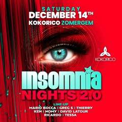 Greg S. @ Insomnia Nights 2.0 (Kokorico) 14 - 12 -2019