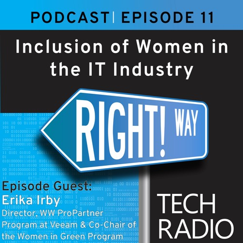 Episode 11 - Inclusion of Women in the IT Industry with Veeam's Erika Irby