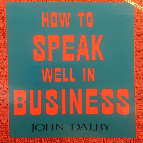 How to speak well in business pt1
