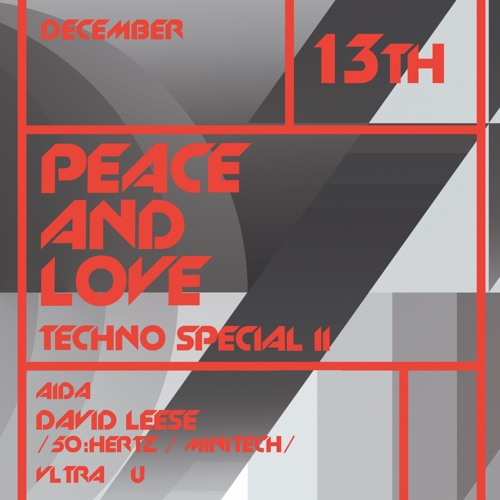 David Leese @ Peace And Love, Lantern - Beijing (13-12-2019)