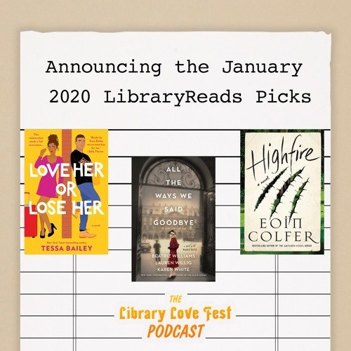 Announcing the January 2020 LibraryReads Picks