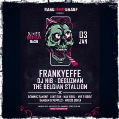 BamBam & PEPPels @ Dj Nib's B-Day Bash feat. HARD BOCK DRAUF | Tanzhaus West Frankfurt | 03.01.2020