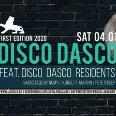 DISCO DASCO @ La Rocca (Backstage) - 04.01.2020 - Pete O'Deep