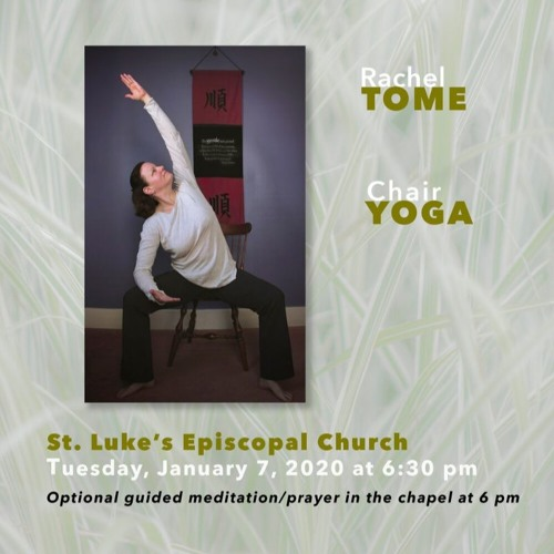 Community Matters - Mindfulness Through Breathing and Chair Yoga Seminar Preview