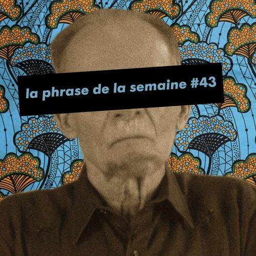 #LaPhraseDeLaSemaine 43 | Bons baisers de Génipa