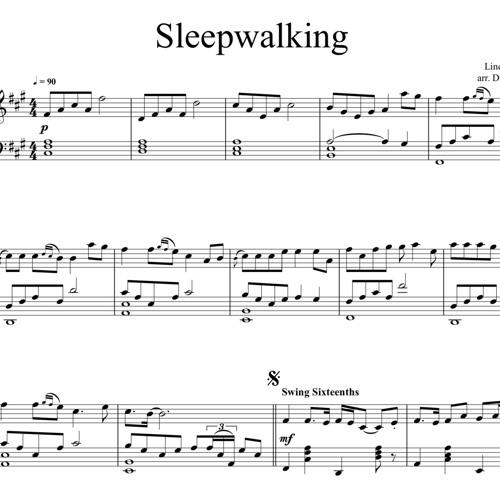 Sleepwalking Piano Solo