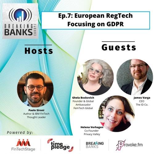 Episode 7: European RegTech: Focusing on GDPR