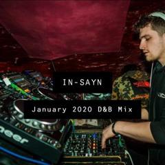 January 2020 D&B Mix (FREE DOWNLOAD)