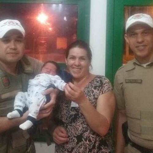 07 01 2020 Praças em Ação - Policiais militares aprasquianos salvam vida de bebê em Blumenau